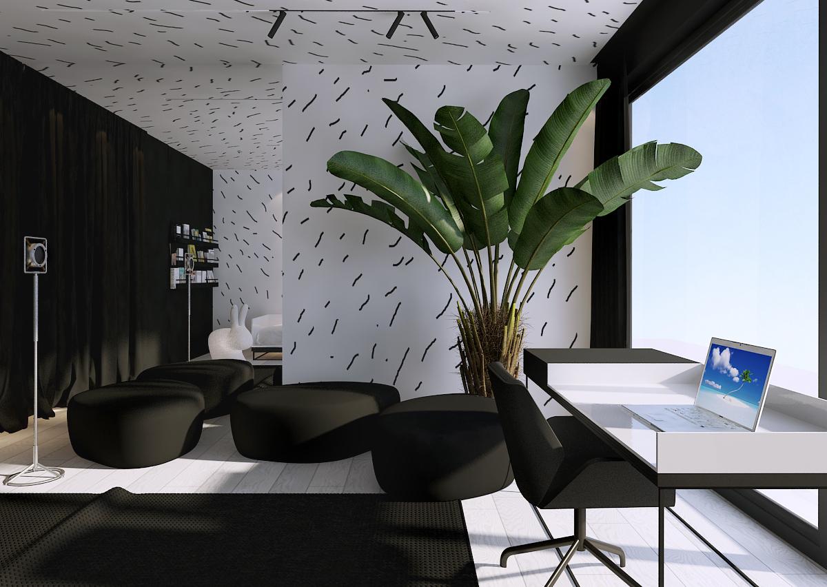 011 mono architekt wnętrz śląsk katowice gliwice nowoczesny pokój dziecięcy minimalistyczny