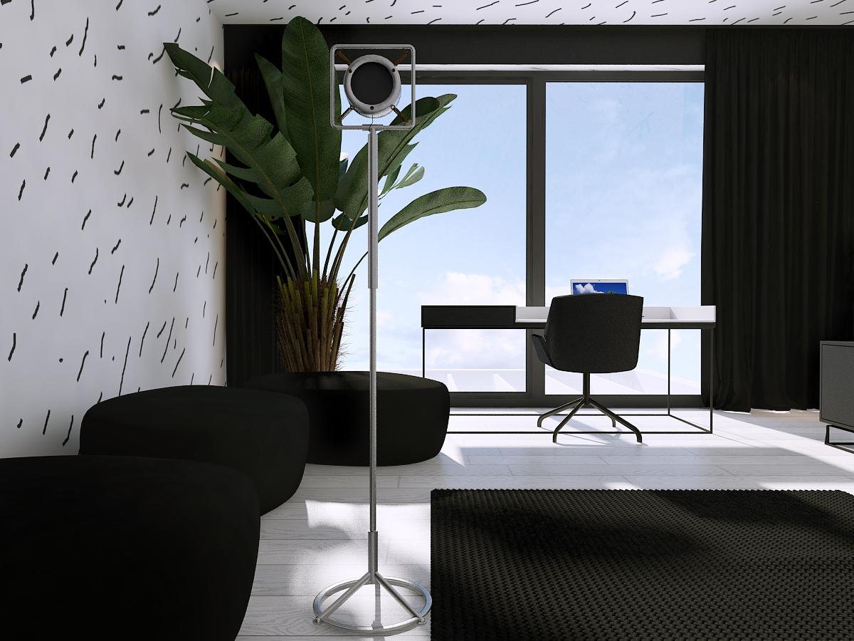 012 mono architekt wnętrz śląsk katowice gliwice nowoczesny pokój dziecięcy minimalistyczny