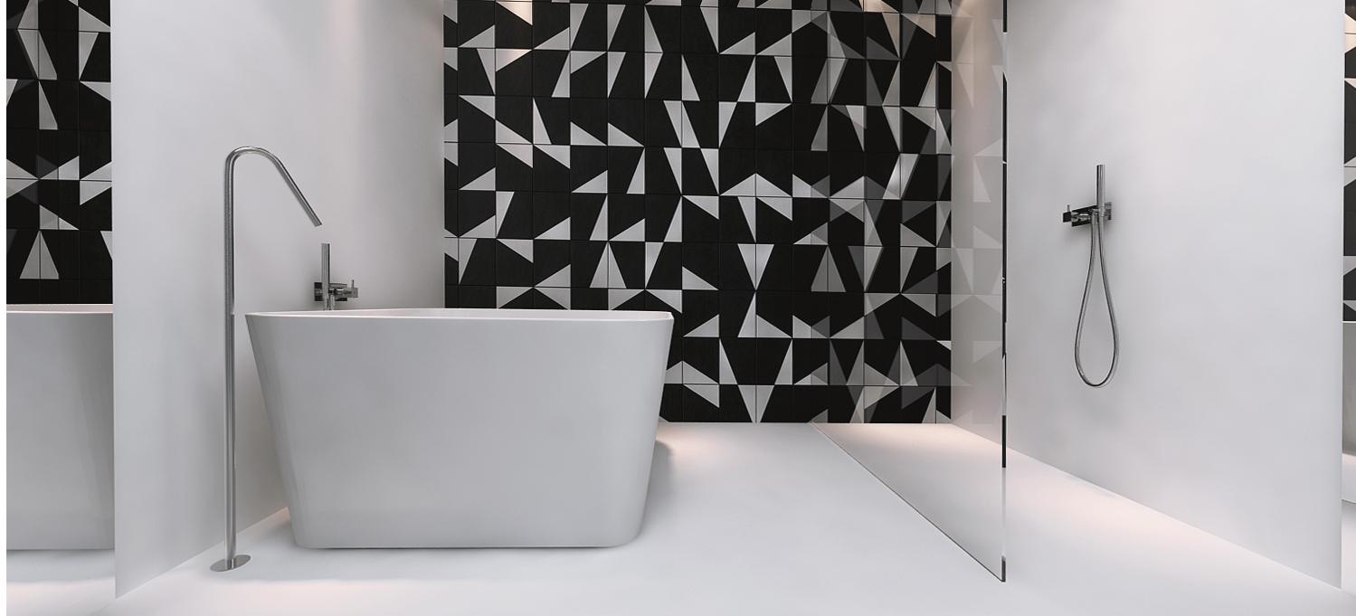 014 mono projektant wnętrz śląsk katowice gliwice nowoczesna łazienka minimalistyczna