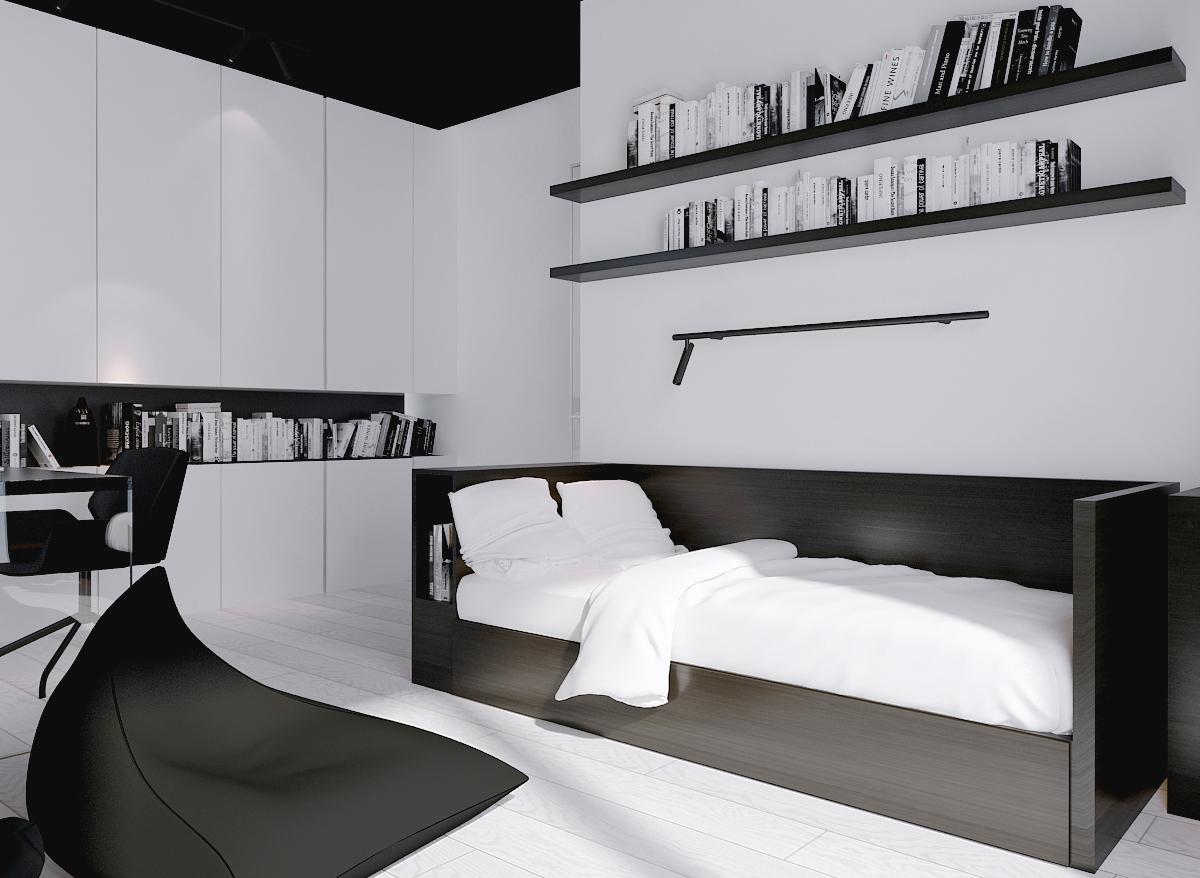 017 mono architekt wnętrz śląsk katowice gliwice nowoczesny pokój dziecięcy minimalistyczny
