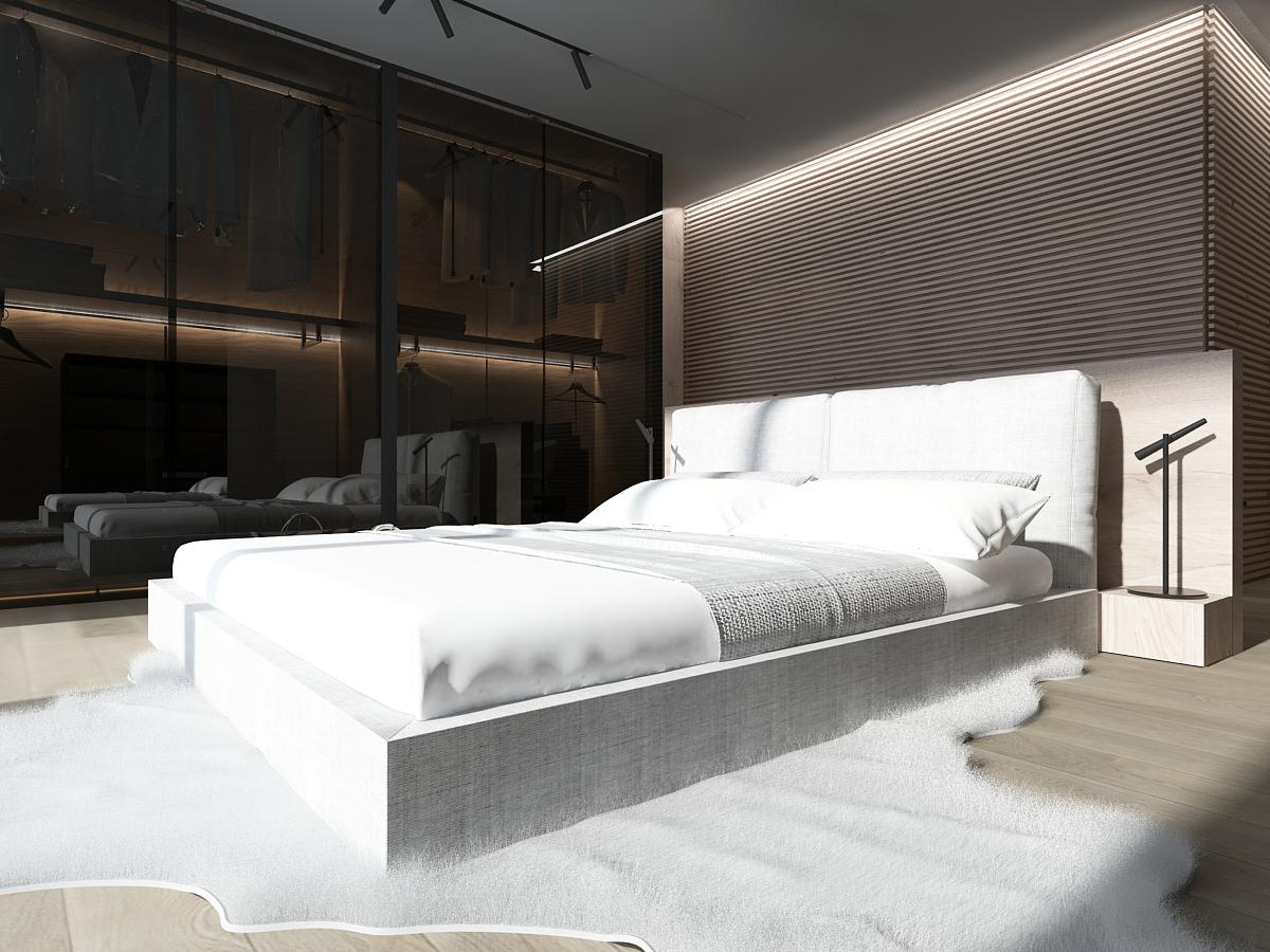 mono aranzacja wnetrz katowice krakow slask nowoczesna sypialnia gadreroba minimalizm