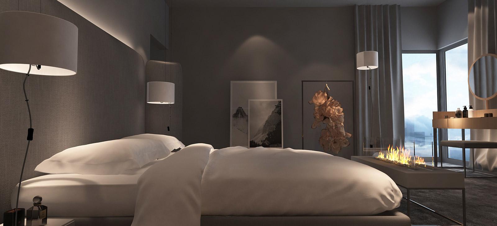 mono-projektowanie-wnetrz-katowice-krakow-tychy-gliwice-nowoczesna-sypialnia