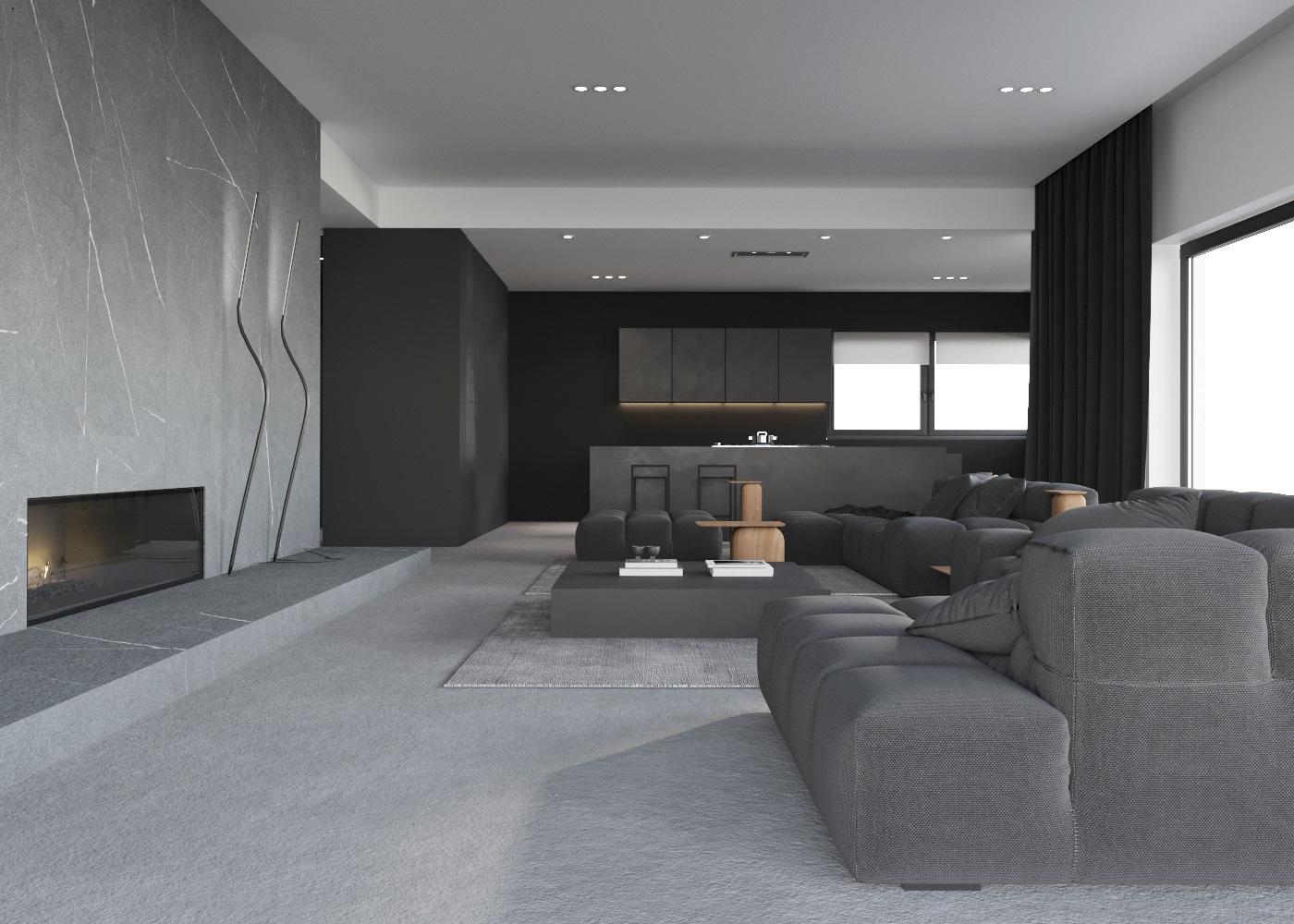 01 projekt domu Orzesze architektura wnętrz